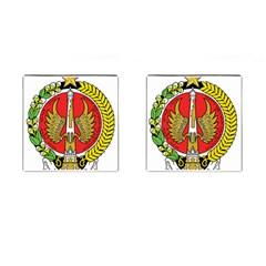 Seal of Yogyakarta  Cufflinks (Square)