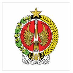 Seal of Yogyakarta  Large Satin Scarf (Square)