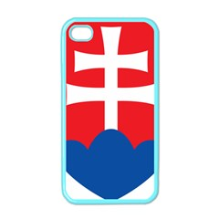 Slovak Air Force Roundel Apple iPhone 4 Case (Color)