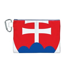 Slovak Air Force Roundel Canvas Cosmetic Bag (M)