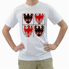Coat Of Arms Of Trentino Alto Adige Sudtirol Region Of Italy Men s T Shirt (white) (two Sided)