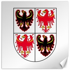 Coat Of Arms Of Trentino Alto Adige Sudtirol Region Of Italy Canvas 20  X 20