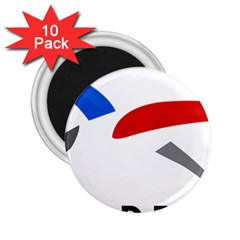 Logo of The French Air Force  2.25  Magnets (10 pack)