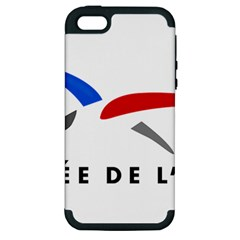 Logo of The French Air Force  Apple iPhone 5 Hardshell Case (PC+Silicone)