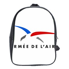 Logo of The French Air Force  School Bags (XL)