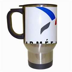 Logo Of The French Air Force (armee De L air) Travel Mugs (White)