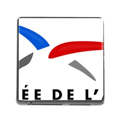 Logo Of The French Air Force (armee De L air) Memory Card Reader (Square)