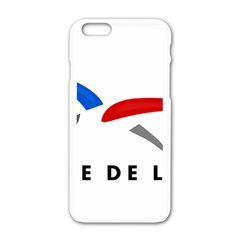 Logo Of The French Air Force (armee De L air) Apple Iphone 6/6s White Enamel Case
