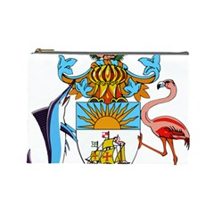 Coat of Arms of the Bahamas Cosmetic Bag (Large)