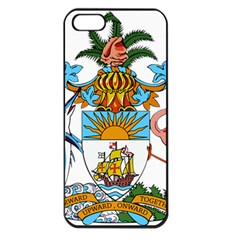 Coat of Arms of the Bahamas Apple iPhone 5 Seamless Case (Black)