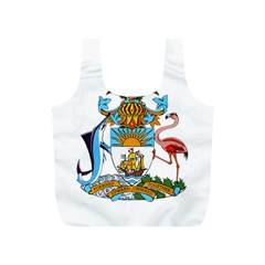 Coat of Arms of the Bahamas Full Print Recycle Bags (S)
