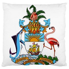 Coat of Arms of the Bahamas Large Flano Cushion Case (One Side)