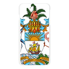 Coat of Arms of the Bahamas Apple Seamless iPhone 6 Plus/6S Plus Case (Transparent)