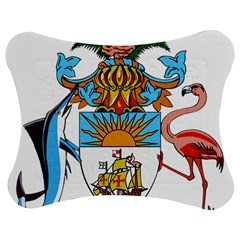 Coat Of Arms Of The Bahamas Jigsaw Puzzle Photo Stand (bow)