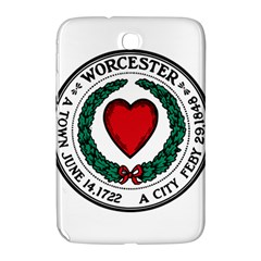 Seal of Worcester, Massachusetts Samsung Galaxy Note 8.0 N5100 Hardshell Case