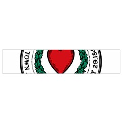 Seal of Worcester, Massachusetts Flano Scarf (Small)