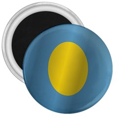 Flag of Palau 3  Magnets