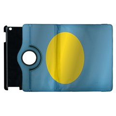 Flag of Palau Apple iPad 3/4 Flip 360 Case