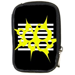 Yellow abstraction Compact Camera Cases