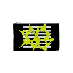 Yellow abstraction Cosmetic Bag (Small)