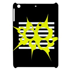Yellow abstraction Apple iPad Mini Hardshell Case
