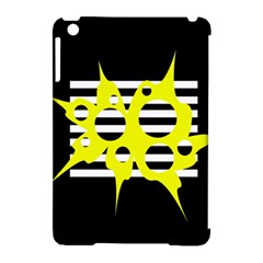Yellow abstraction Apple iPad Mini Hardshell Case (Compatible with Smart Cover)