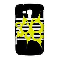 Yellow abstraction Samsung Galaxy Duos I8262 Hardshell Case