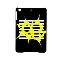 Yellow abstraction iPad Mini 2 Hardshell Cases
