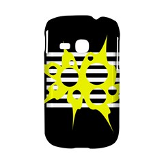 Yellow abstraction Samsung Galaxy S6310 Hardshell Case