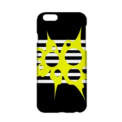 Yellow abstraction Apple iPhone 6/6S Hardshell Case