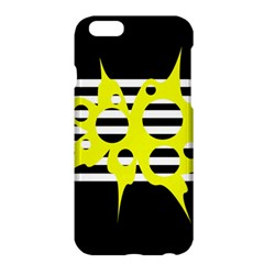 Yellow abstraction Apple iPhone 6 Plus/6S Plus Hardshell Case