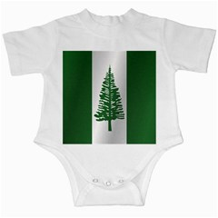 Flag Of Norfolk Island Infant Creepers