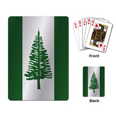 Flag Of Norfolk Island Playing Card