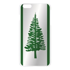 Flag Of Norfolk Island Apple Seamless iPhone 6 Plus/6S Plus Case (Transparent)