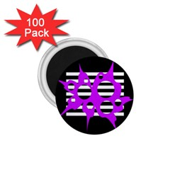 Purple abstraction 1.75  Magnets (100 pack)