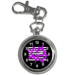 Purple abstraction Key Chain Watches