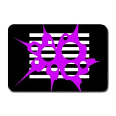 Purple abstraction Plate Mats
