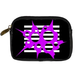 Purple abstraction Digital Camera Cases