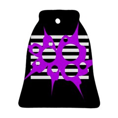 Purple abstraction Bell Ornament (2 Sides)