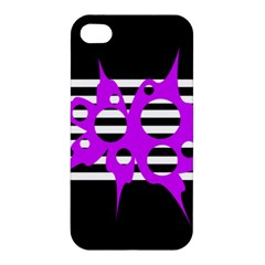 Purple abstraction Apple iPhone 4/4S Hardshell Case