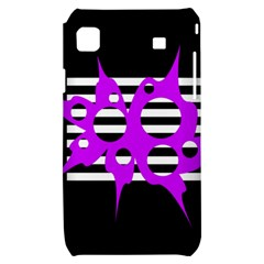 Purple abstraction Samsung Galaxy S i9000 Hardshell Case