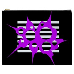 Purple abstraction Cosmetic Bag (XXXL)