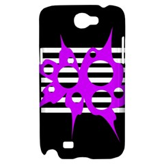 Purple abstraction Samsung Galaxy Note 2 Hardshell Case