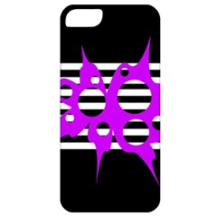Purple abstraction Apple iPhone 5 Classic Hardshell Case