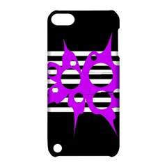 Purple abstraction Apple iPod Touch 5 Hardshell Case with Stand