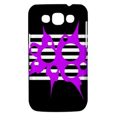 Purple abstraction Samsung Galaxy Win I8550 Hardshell Case