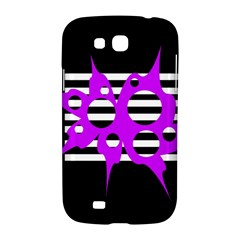 Purple abstraction Samsung Galaxy Grand GT-I9128 Hardshell Case