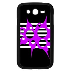 Purple abstraction Samsung Galaxy Grand DUOS I9082 Case (Black)