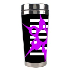 Purple abstraction Stainless Steel Travel Tumblers