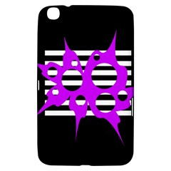 Purple abstraction Samsung Galaxy Tab 3 (8 ) T3100 Hardshell Case